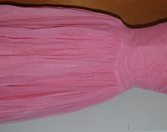 1950's pink party dress. Amazing condition.