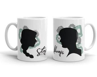 Katniss and Peeta Inspired Mugs