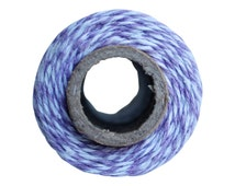 Purple Bakers Twine -  Lavender 100 yard twine spool, Lavendar 4 ply bakers twine - 100% cotton Mason jar twine - Purple cotton bakers twine