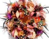 Witch Wreath, Halloween M...