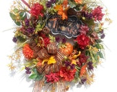 Autumn Wreath, Thanksgivi...
