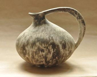 RESERVED - Ruscha 313 vase - Kurt Tschöner - West-german pottery - fat lava pitchter