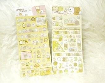 Kawaii Enamel Stickers