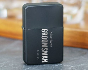 Personalized Engraved Wedding Party Lighter