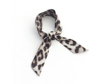 Rag & Bone leopard mini scarf