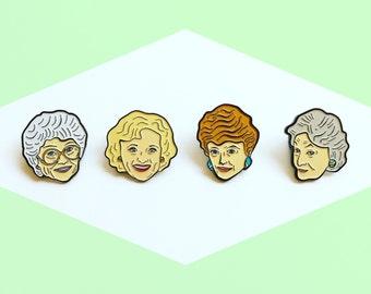 The Golden Girls Enamel Pin Pack