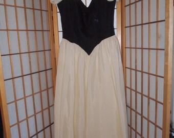 1980's Snow White Type Dress with Tulle Crinoline