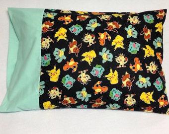 Pokemon Characters Standard Pillowcase