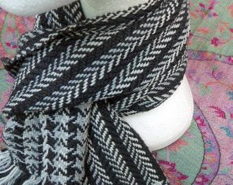 Handwoven Merino Wool Scarf