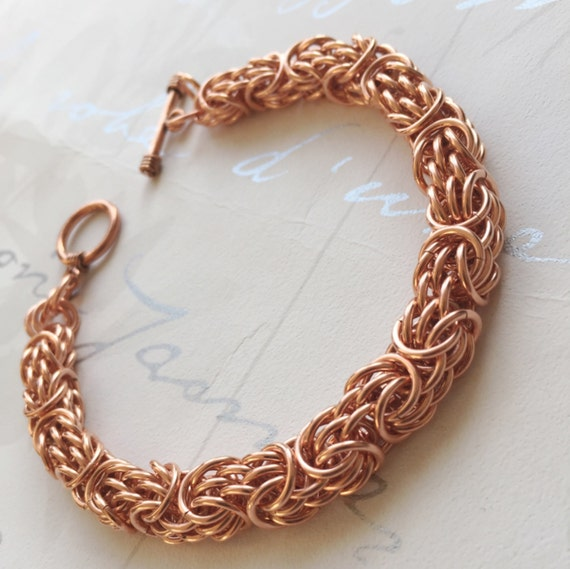 solid copper bracelet mens copper jewelry tryzantine. Black Bedroom Furniture Sets. Home Design Ideas
