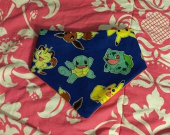 Pokemon bandana baby bib