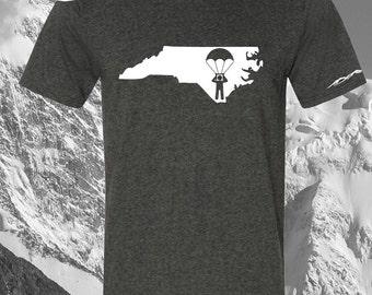 North Carolina Sky Diver Shirt ANY STATE AVAILABLE