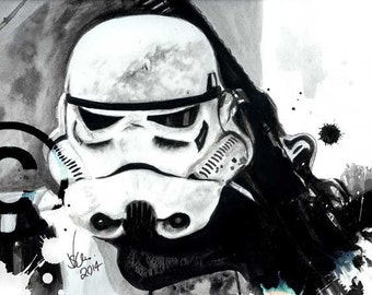 Stormtrooper - Canvas Wall Art