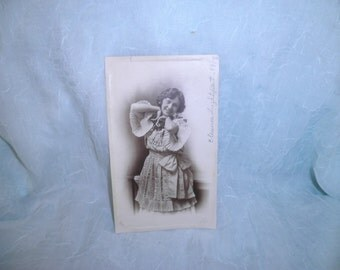 Old Cabinet Phoyograph of  1900's Dancer