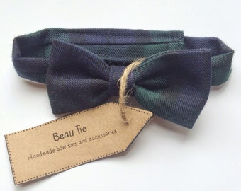 Baby bow tie, boys bow tie, plaid bow tie, tartan bow tie, gifts for babies, baby shower
