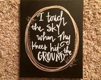 Touch the Sky- Hillsong Canvas