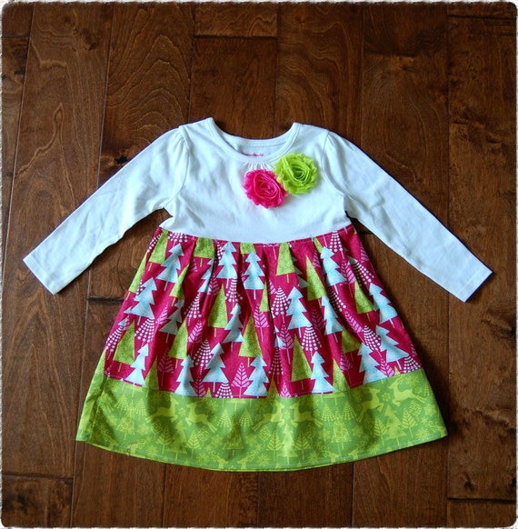 Christmas Dresssize 3t And 18 Months Ready To By Dressavenue