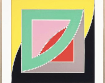 "Frank Stella ""Referendum '70"" - 1970 - S/N Screenprint - COA - See Live at GallArt - Buy/Sell"