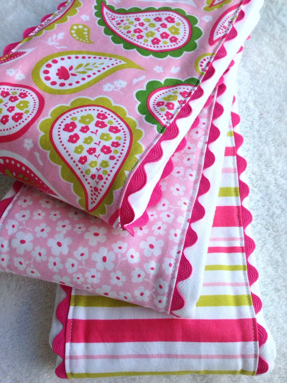 Baby Girl Burp Cloths Cloth Diaper Burp Cloths Riley Blake