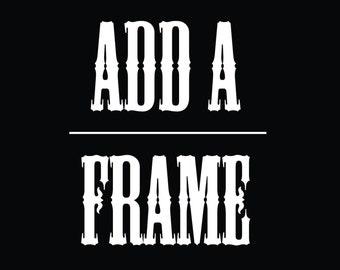 Framed Art, Framed wall decor, framed wall art, Get your poster Framed! Framing for Prints 4x6, 5x7, 8x10, Framed art print, Black white