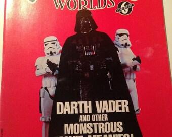 Weird Worlds #6 vintage magazine with Darth Vader cover 1980