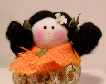 Little pumpkin doll