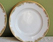 Vintage Porcelain Sango Replacement Plate. Bread Plate with Chateau 3627 Pattern by Sango China. Sango Plate Made in Japan.