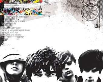 A1 stone roses print