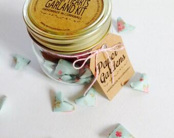 Jar of Hearts Origami Garland Kit