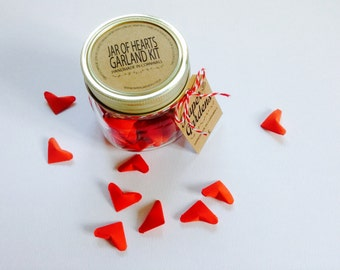 Jar of Hearts Origami Garland Kit