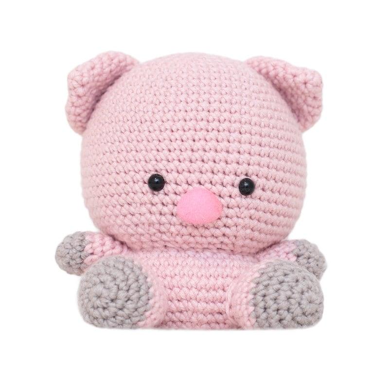 Amigurumi Crochet Needle Size : Peggy the Pig Amigurumi Pattern