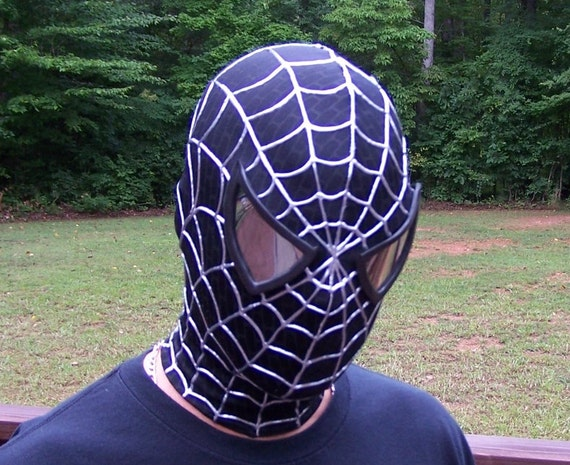 black spiderman mask - photo #16