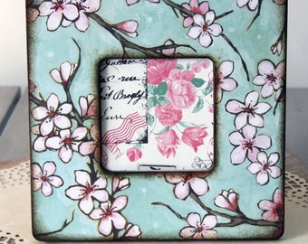Cherry Blossom Branches Picture Frame