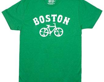 Boston Bicycle T-shirt. Bike tshirt. Cycling graphic tee.