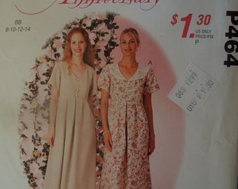 McCalls P464, sizes vary, dress, misses, womens, UNCUT sewing pattern, craft supplies