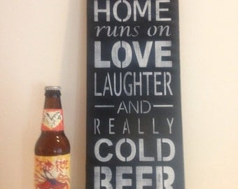 Beer Sign, Distressed Sign, Made To Order