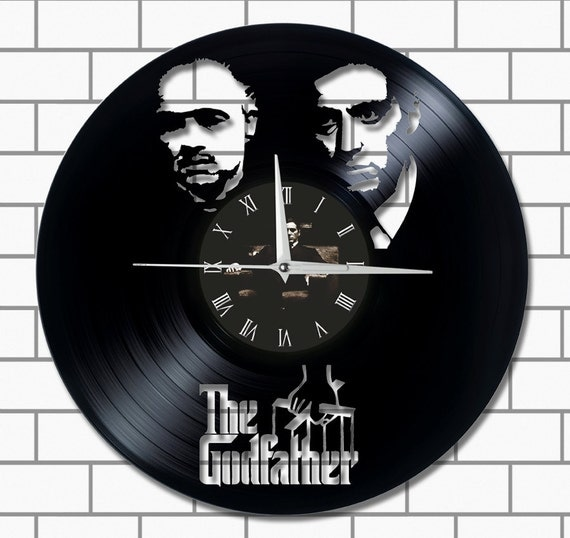 The Godfather Home Decor Wall Vinyl Clock Unique Gift By Dopen