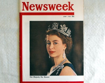 Vintage Magazine, Newsweek, June 1953