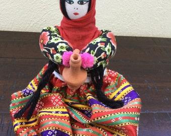 Vintage Turkish  Handmade Doll