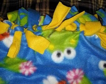 Frog OR Plaid Twist Knot scarf