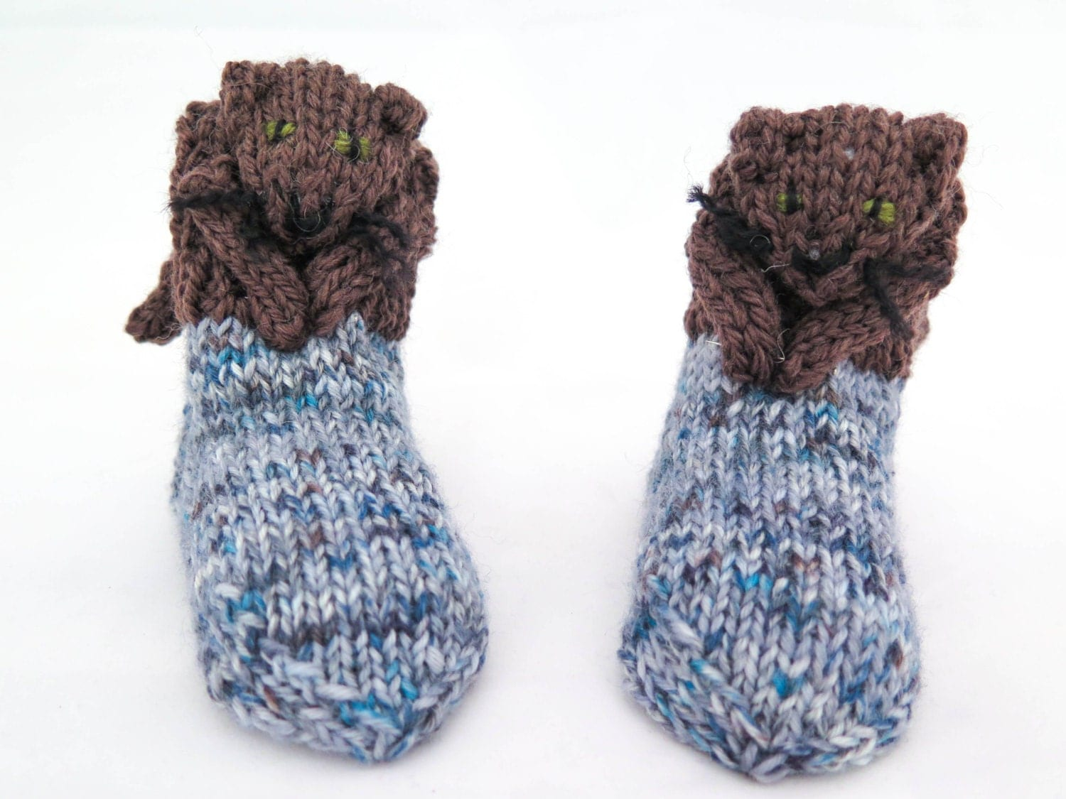 Knitting pattern novelty baby socks cat socks toddler socks this is a digital file bankloansurffo Image collections