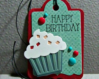 Happy Birthday... Cupcake... Tag...