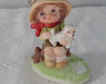 Vintage Italian ceramic figurine