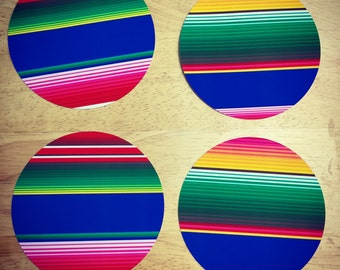 Serape/Sarape Circle Cut Outs