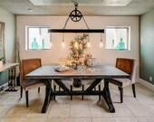 Chandelier Lighting, Rustic Chandelier Lighting, Chandelier Handmade, Steel chandelier, Dining chandelier, Farmhouse Chandelier Lighting