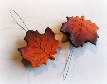 Maple leaf curtain holdback Hold back home decor Curtain Tie Backs leaf