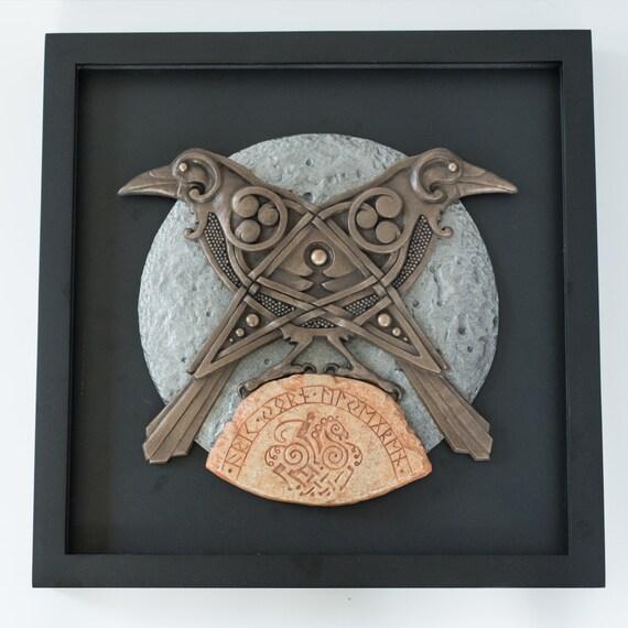 Odin's Raven's: Hugin and Munin. Norse/Viking by Jivotica ...