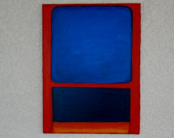 """Abstract oil painting, Mark Rothko inspired 18""""x 24"""""""
