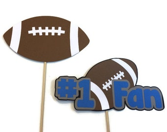 Photo Booth Props- 2 Piece Football Themed Photo Booth Props- NFL-Superbowl