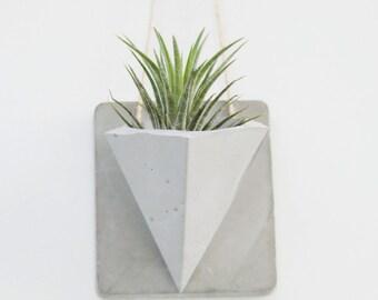 Wall Hanging Planter/Concrete planters/Hanging Planter/ Succulente Planter /Air Plant Holder /Home decor / Hanging planter /Wall decor/ Gift